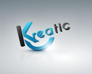 logo 3D kreatic
